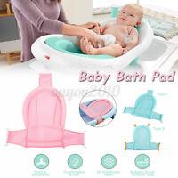 Adjustable Baby Bath Tub Pad Shower Nets Newborn Kid Infant Bathtub Pads  U