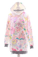 T-532 Magical Girl Donut Sweets Pastel Goth Lolita Pullover Sweatshirt Kawaii