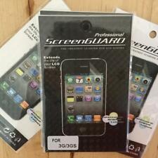 4 X SCREEN PROTECTORS IPHONE 3G/3GS SCREENGUARD EXTENDS THE LIFE OF LCD SCREENS