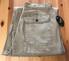 2f9edbdd VTG 90's LEE Riveted Carpenter Jeans Womens Size 12 Medium Easy Fit NWT NEW!
