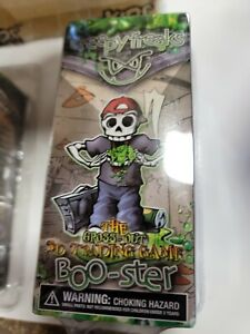 Lot of 24 CREEPY FREAKS Gross-Out 3-D Trading Game Boo-ster WIZKIDS NEW case