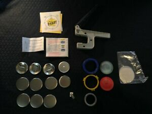 "Button Maker | Pin Maker | 2 1/4"" DIY Button-Making Machine Badge A Minnit"