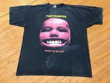 Xl - Vtg 90s Tubthumper Chumbawamba Distressed Faded T-shirt