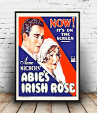 Abie's Irish Rose 1928 Film advertising poster reproduction