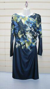 Kaleidoscope Dress Size 10 Blue Multicoloured Print Detail  BNWT GO30