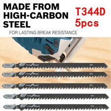 5pcs T344D 6T T-Shank Jigsaw Blades for Wood Plastics Cutting Fast Cutting Tools