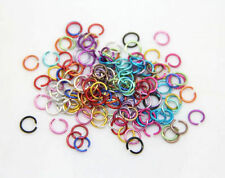 500 pcs Mixed Color Jump Rings Open Connectors DIY Jewelry Accessories Hot