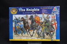 XU075 ITALERI 1/72 figurine 6009 The Knights XI th century crusade croisé