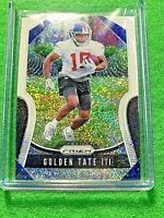 GOLDEN TATE III PRIZM WHITE SPARKLE CARD JERSEY #15 GIANTS SP /20 REFRACTOR 2019