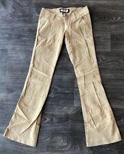 Abercrombie Kids Girls Flare Leg Pants Khaki Size 16S