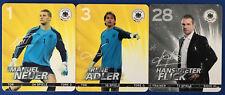 DFB 2012 - Sammelkarten Nr. 1/32 NEUER + 3/32 ADLER + 28/32 FLICK - EM, Selten !