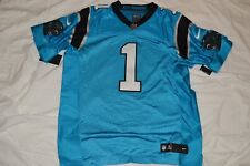Nike Carolina Panthers Cam Newton  1 Player Issue Elite Jersey Size 48 XL 117efb2b0