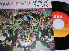 "7"" - Frank Zappa Love of My Life & for The Young Sophisticate-MINT 1981 # 2672"