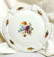 "Antique German Felda-Rhon Porzellan 12"" Round Art Deco Design Cake Plate"