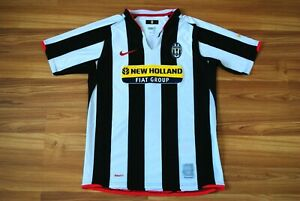 Young XL 158-170 JUVENTUS ITALY JERSEY 2007-2008 HOME SHIRT NIKE MAGLIA CAMISETA