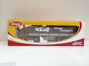 Mercedes Benz Covered Trailer Tractor Trailer - 1/50 -  Joal #361 -  MIB