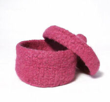 Knit and Felt Trinket Pot Knitting Pattern