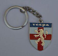 Vespa Shield Quality Enamel Keyring