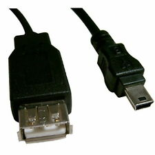 2m 6ft USB 2.0 Extension Type A Female Mini-B Male Cable SONY Power C201