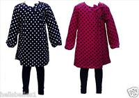 GIRL'S EX GEORGE 2PC DRESS/TOP & LEGGING SET/OUTFIT 9-12 12-18 18-24M 2 3 4 5 6Y
