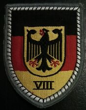 ✚0325✚ German Bundeswehr sleeve patch insignia TERRITORIAL COMMAND VIII.