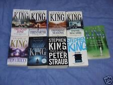 Stephen King Job Lot Collection  9 Books Pb