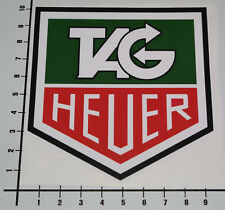 Tag heuer sticker autocollant logo steve McQueen Monaco turbo voiture Décalque JDM mi257