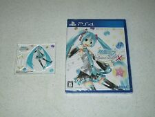 Hatsune Miku Project DIVA X HD Exclusive Acrylic Hatsune Miku PS4 Japan Import