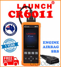 LAUNCH Creader 6011 OBD2 ABS SRS Airbag Engine Fault Diagnostic Scan Code Reader