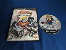 NARUTO: ULTIMATE NINJA Playstation 2 game + CASE & NEAR MINT DISC!