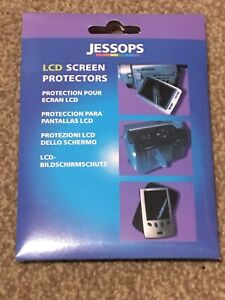 NEW Jessops LCD Screen Protectors 96x78mm, Cleaning wipe