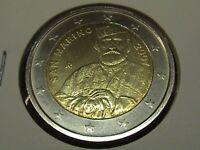 SAN MARINO 2007 moneta 2 EURO COMMEMORATIVO GARIBALDI in oblò