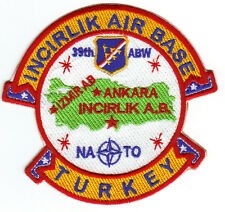 Usaf Base Patch,Incirlik Air Base, Turkey, 39Th Abw, Nato