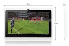 Tablet 7 pulgadas Quad core 1 GB de RAM 8 ROM FULL HD CON FUNDA BLANCA