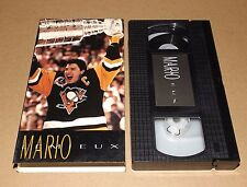MARIO LEMIEUX vhs video Pittsburgh Penguins