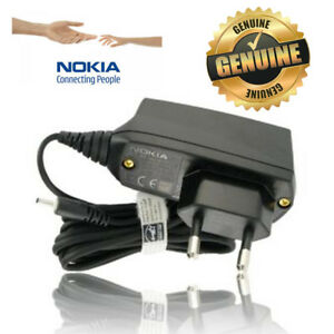 Nokia Genuine AC-8E Thin Pin Mains Wall Charger For Nokia EURO Travel Charger