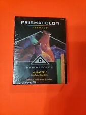 12 Prismacolor NuPastel Firm Color Sticks Artists Drawing sketching watercolor