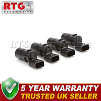 4X FOR SKODA OCTAVIA 3 PIN STRAIGHT TYPE PDC PARKING DISTANCE SENSOR 4PS1501S