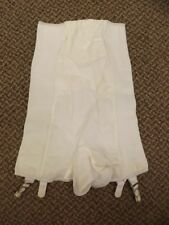 Rubber Vtg 1950s NEW High Waist Long Leg Shaper Girdle Garters Panties S 25/26