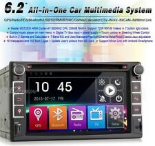 "AUTORADIO Touch 2 Din 6.2"" Universale MP3 DVD SD BLUETOOTH AUX Navigatore Gps"
