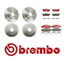 Brembo Complete Front Rear Brake Kit Rotors Pads for Nissan Titan 04-07 V8 5.6L