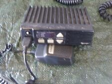 MIDLAND 1337 VHF PMR TWO WAY RADIO TRANSCEIVER AND A MICROPHONE SPARES OR REPAIR