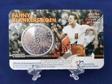 Nederland 2018 5 Euro Fanny Blankers Koen UNC