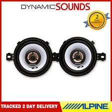 "ALPINE SXE-0825s 3.5"" 3-1/2"" 150W Coaxial Car Van Audio Stereo 8cm Speakers"