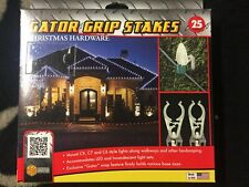 Christmas Hardware Gator Grip Light Stakes