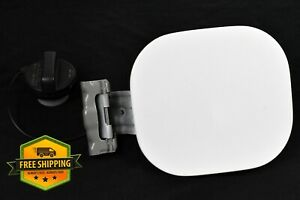 2013-2019 Nissan Sentra White Fuel Filler Gas Door Cap Lid OEM