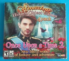 Amazing Hidden Object Games 4 Pack Once Upon A Time 2 DVD Brand New Sealed