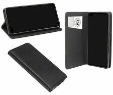 Cuero De La PU Funda Protectora Smart Accesorio Cartera para Huawei P40 en Negro