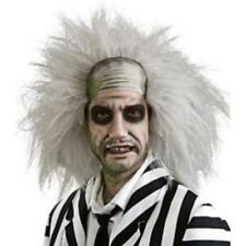 Beetlejuice Wig Men's Fancy Dress Halloween Beetle Juice Costume Movie Accessory