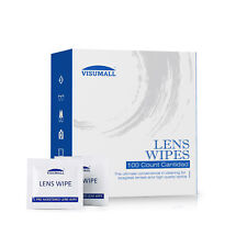 Visumall Lens Cleaning 200 Ct Wipes Eye Glasses Computer Optical Lense Cleaner